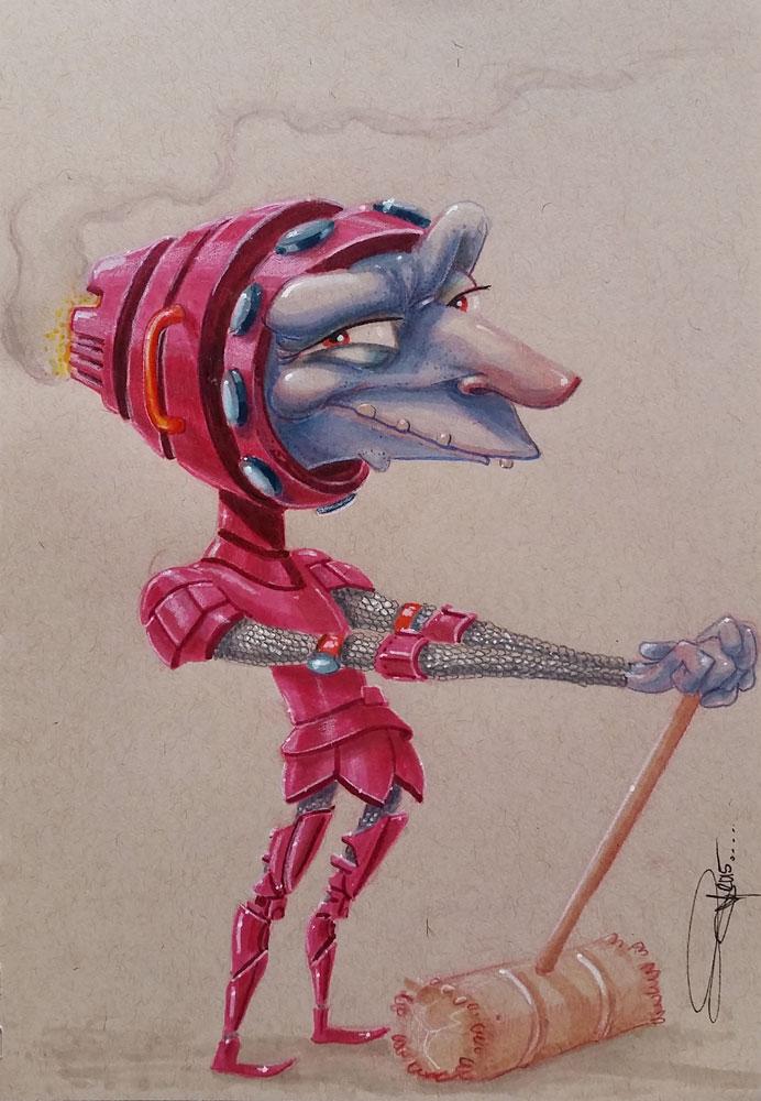 Crochet-Knight