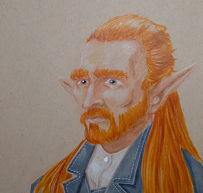 Elven Van Gogh Time Lapse